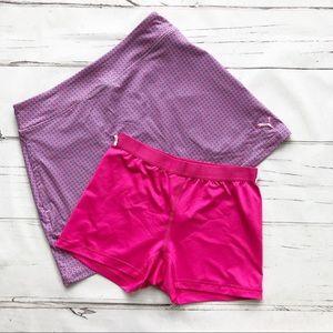 PUMA Golf Skort Skirt detachable shorts